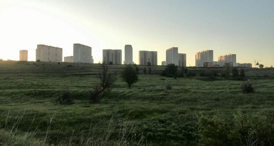 Общий вид Суворовского в полях