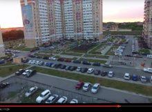 Полет на квадрокоптере в ЖК Суворовском