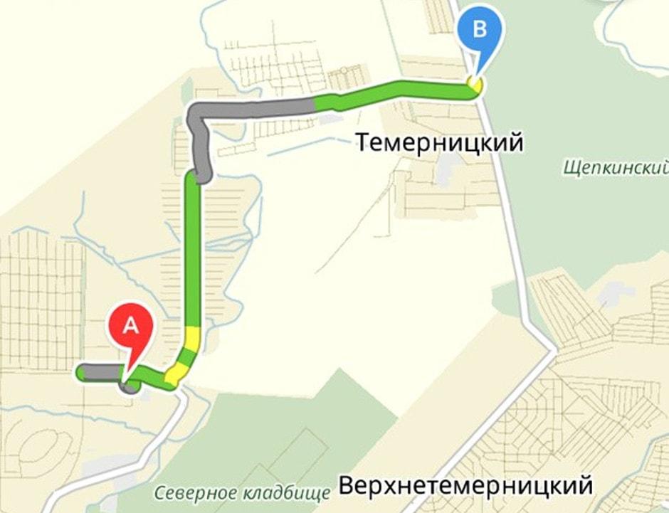 Веломаршрут возле ЖК Суворовского