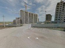 Вид на 140-ой военный городок ЖК Суворовского в процессе постройки