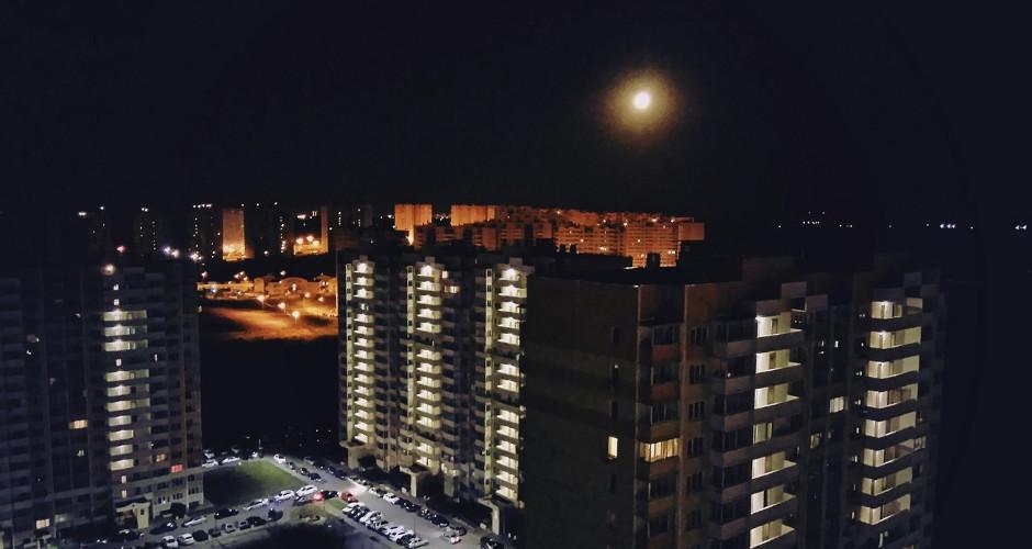 Наружное освещение в 140-ом военном городке