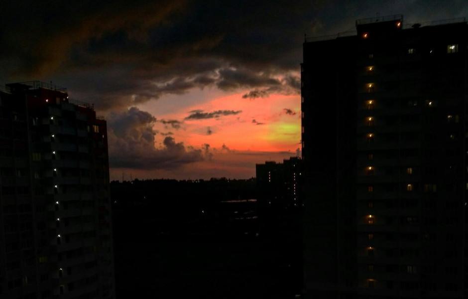 Отблески солнца