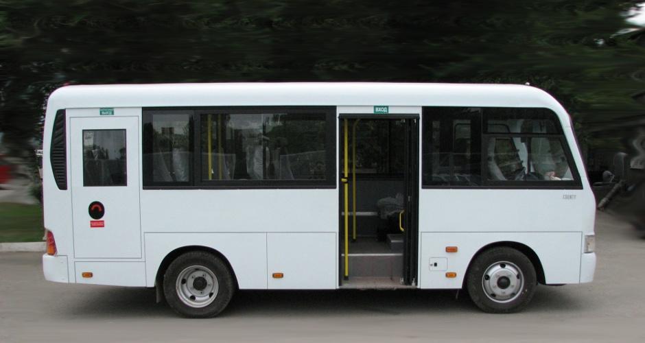 Новые автобусы hyundai на маршруте №18 в ЖК Суворовский