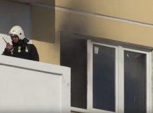 Пожарный в доме Платона Кляты 15 от 12 сентября 2017