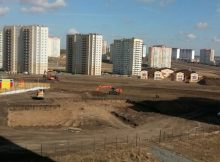 Котлован первой школы Суворовского