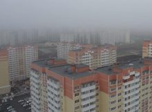 Полет на квадрокоптере над ЖК Суворовским