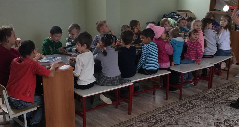 Занятия в воскресной школе Бориса и Глеба