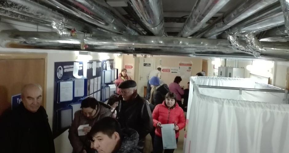 Вид на избирательный участок №2630