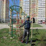 День древонасаждения 2018 года в ЖК Суворовском
