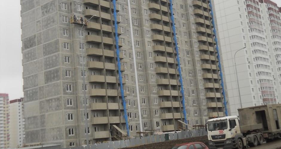 Вид на дом Литер 17 на Участке 120 ЖК Суворовского