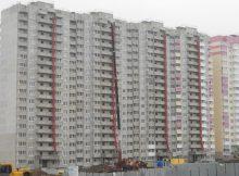 Вид на дом Литер 24 на Участке 120 ЖК Суворовского