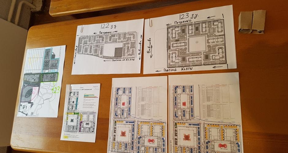 Карты и схемы жилого комплекса Суворовский