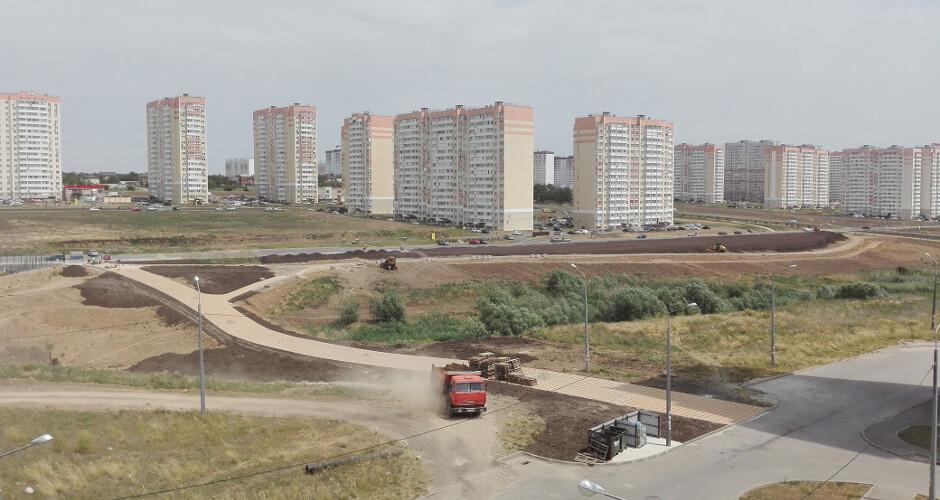 Общий вид на балку Чард ЖК Суворовского