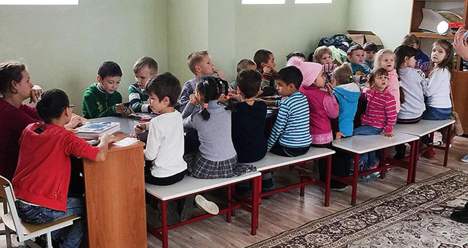 Воскресная школа при храме Бориса и Глеба в ЖК Суворовском
