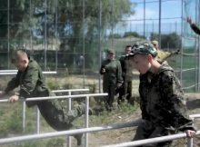 Спортивный лагерь в Предтеченском городке