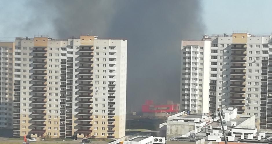 Вид на пожар