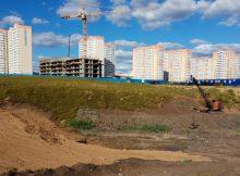Вид на балку Чадр в ЖК Суворовский