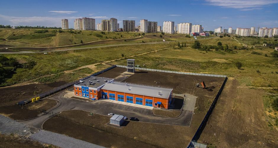 Пожарное депо ЖК Суворовский