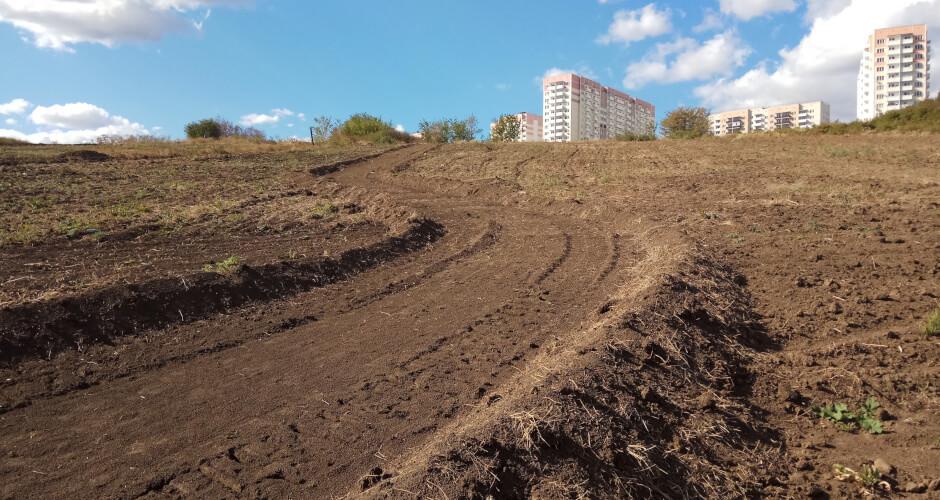 Трасса для маунтинбайка в Суворовском