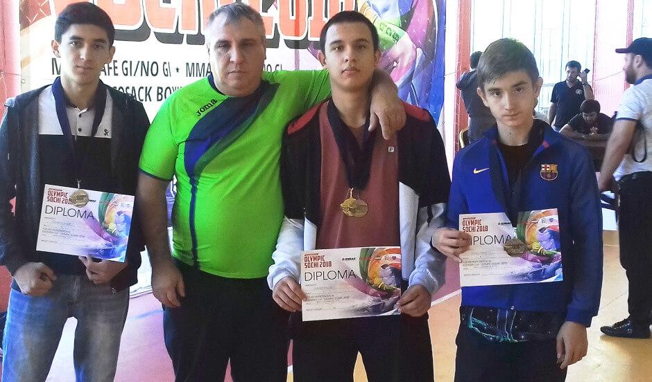 Тренер клуба Суворов