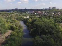 Река Темерник возле ЖК Суворовский Ростов