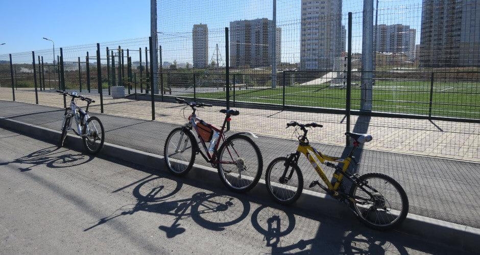 Велосипеды участников клуба