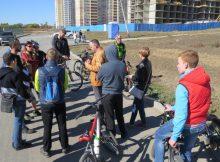 Первый сбор велоклуба ЖК Суворовский