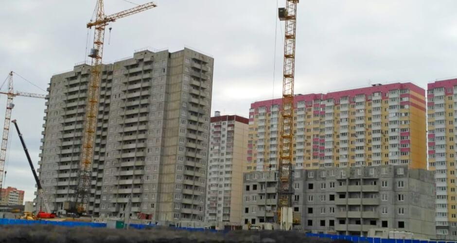 Вид на дом Литер 07 на Участке 120 ЖК Суворовского