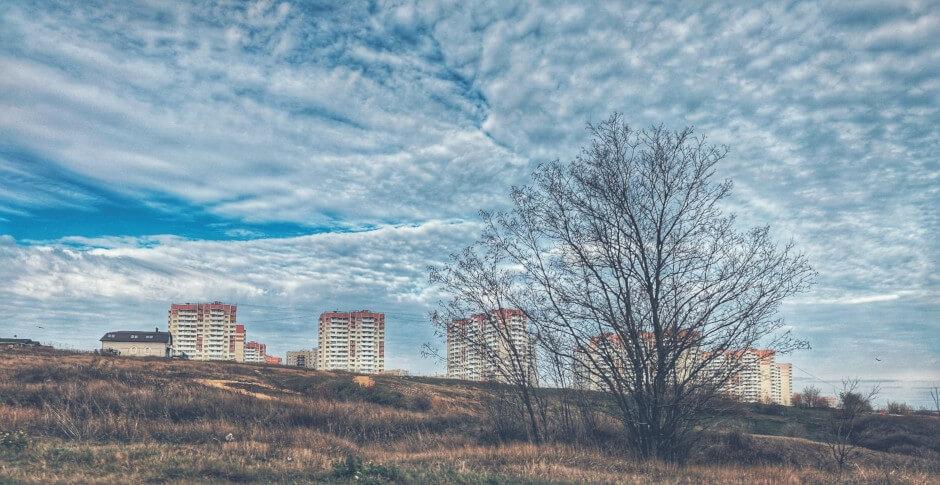 Поздняя осень в Суворовском