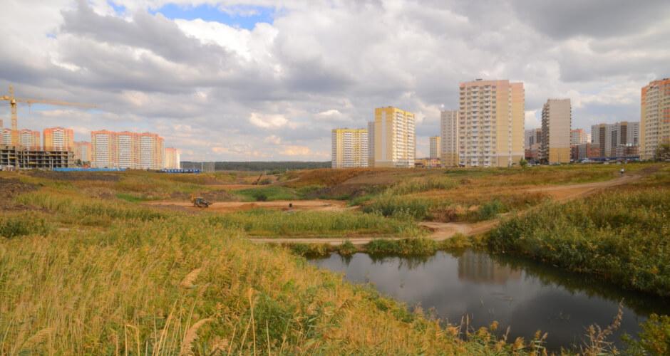 Балка Чадр в ЖК Суворовский