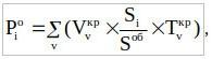 Первая формула расчета