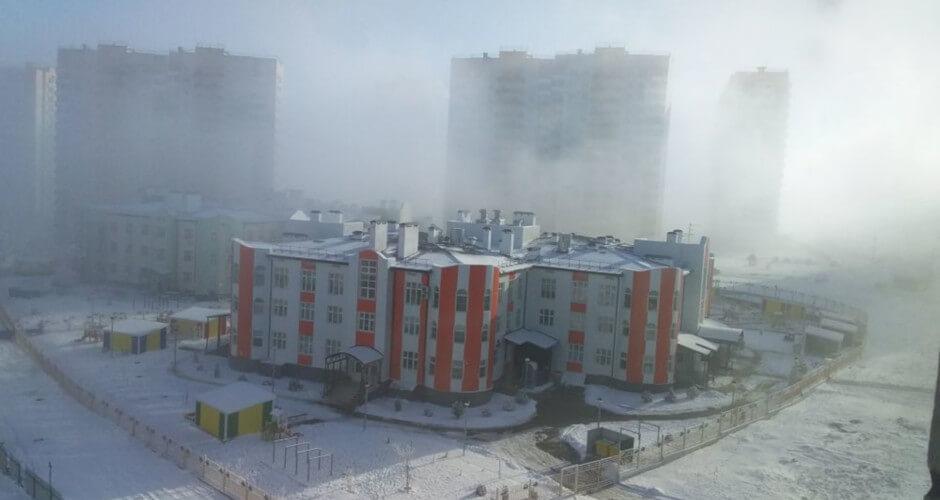 Вид на детский сад ЖК Суворовский №29