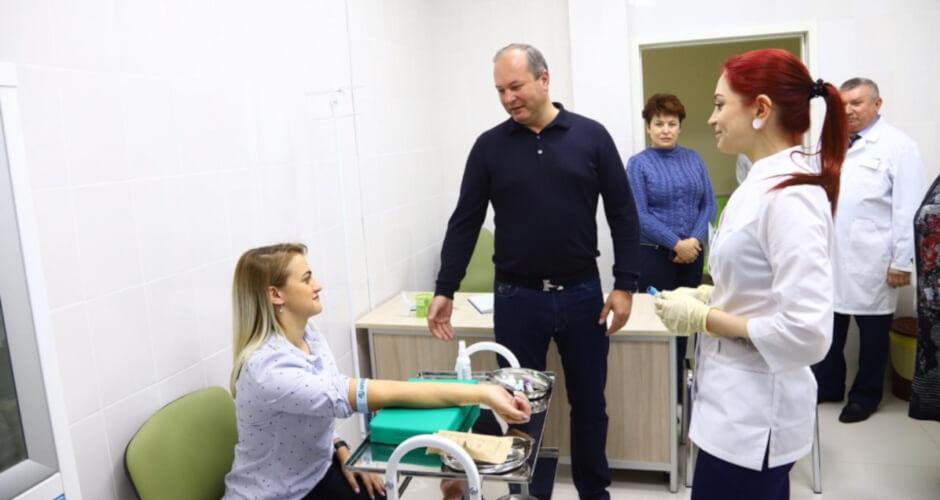 Забор крови на анализ в поликлинике ЖК Суворовский