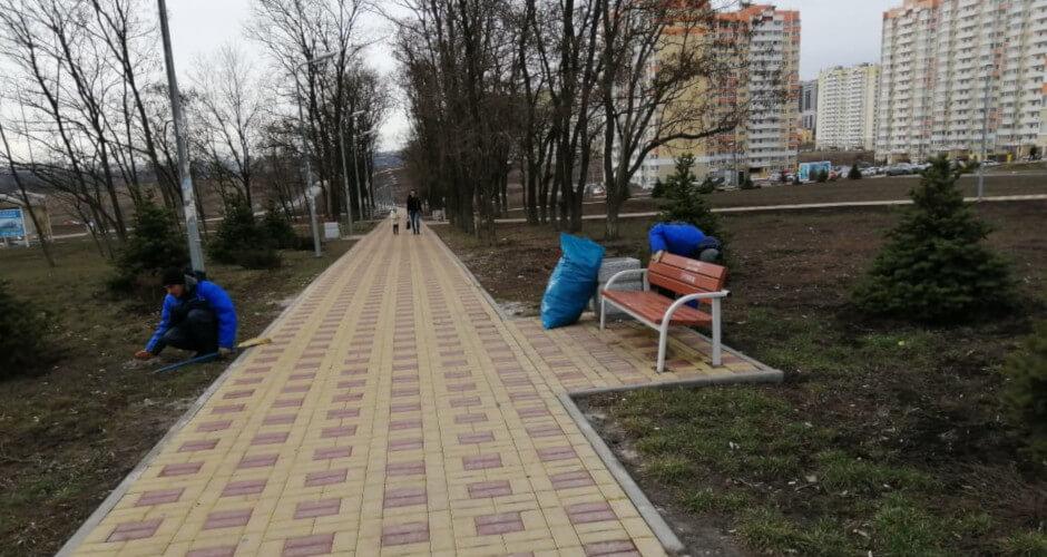 Прогулочная улица Суворовского