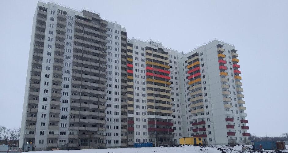 Вид на дом Литер 29 на Участке 120 ЖК Суворовского