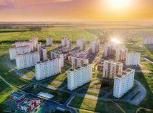 Полет над ЖК Суворовский