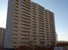 Вид на дом Литер 11 на Участке 120 ЖК Суворовского