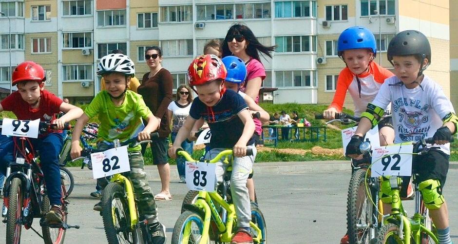 Велошкола в ЖК Суворовский