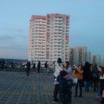 Фейерверк в Суворовском. Фото 5.