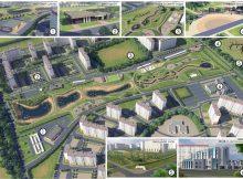 Схема спортивно-паркового комплекса Чадр