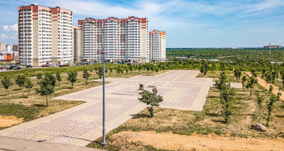 Парк Победы в ЖК Суворовский