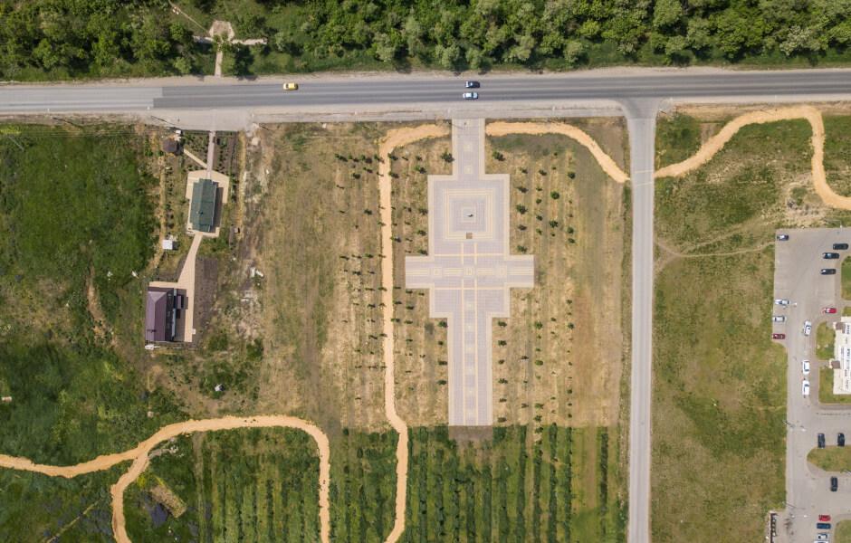 Парк 70-летия Победы в ЖК Суворовский
