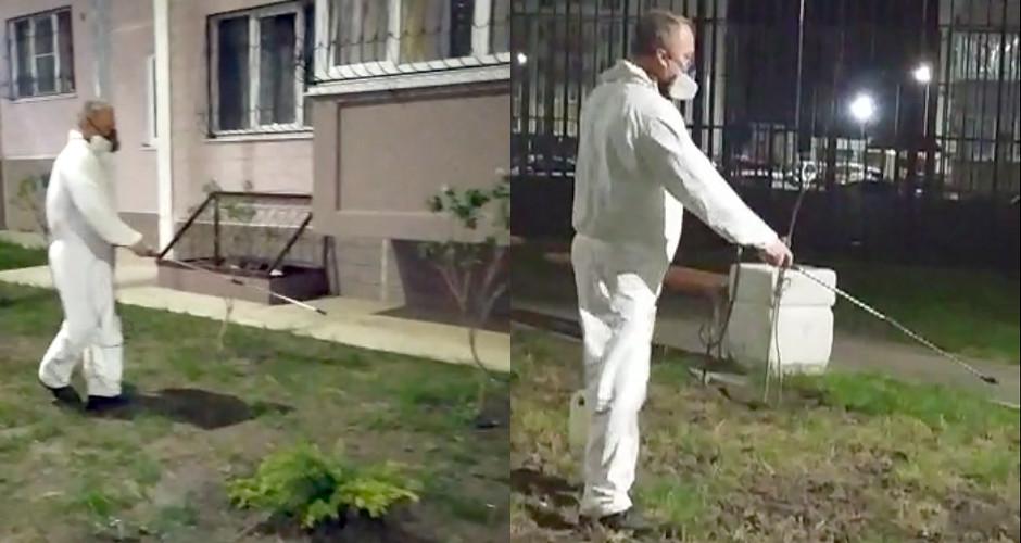 Обработка Суворовского от клещей