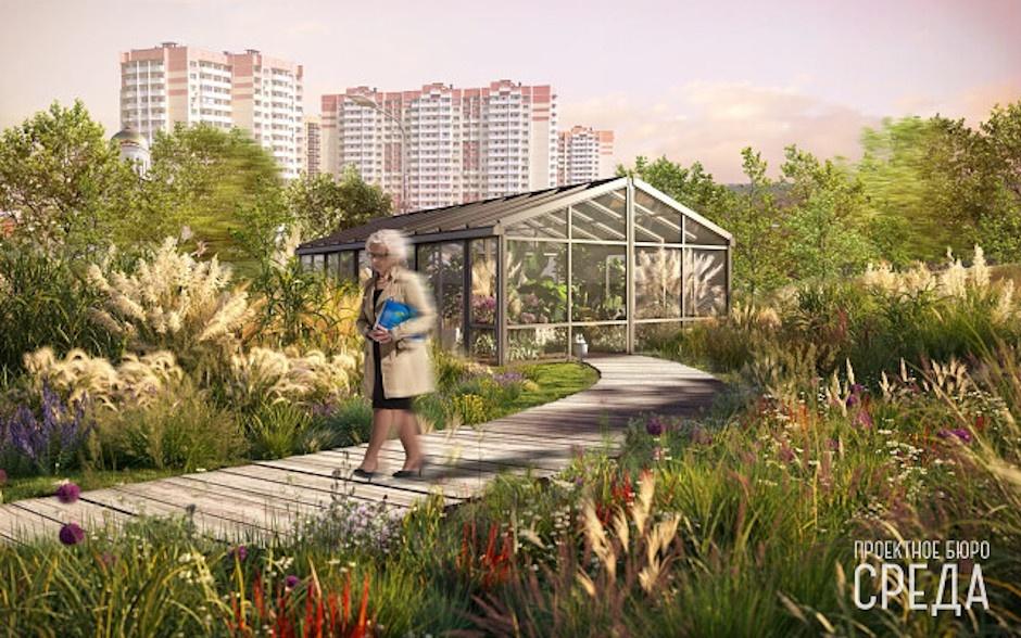 Дизайн нового парка в ЖК Суворовский