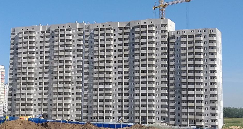 Вид на дом Литер 01 на Участке 120 ЖК Суворовского