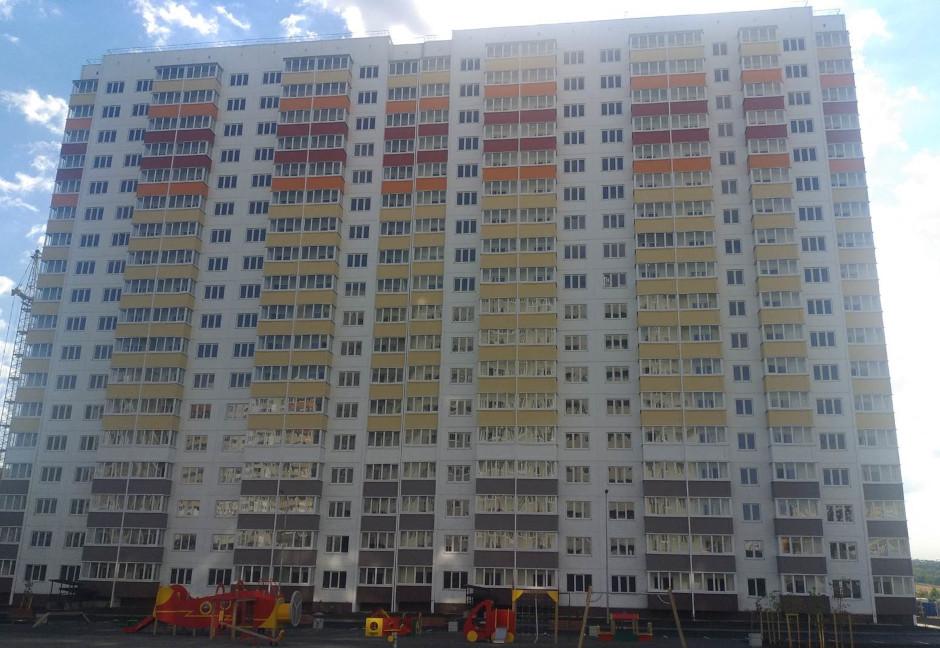 Вид на дом Литер 12 на Участке 120 ЖК Суворовского
