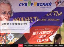 Спорт в ЖК Суворовский