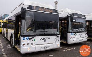 Новые автобусы для ЖК Суворовский