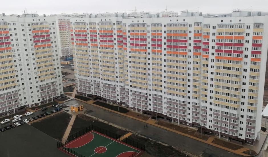 Вид на сданный дом Литер 1 на Участке 120 ЖК Суворовского
