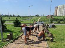 Благоустройство в ЖК Суворовский
